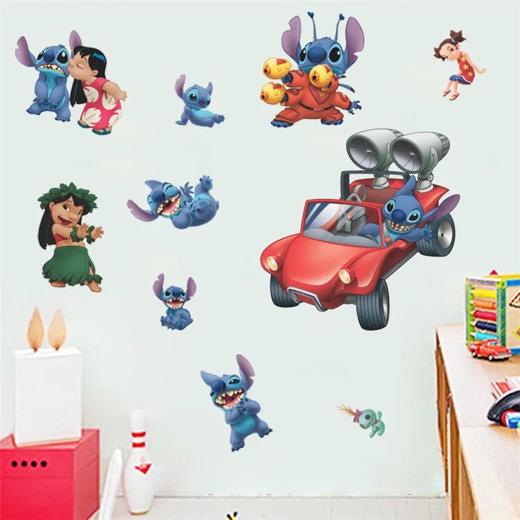 Stitch Wall Decal
