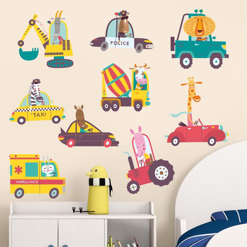 Truck Themes Wall Decal
