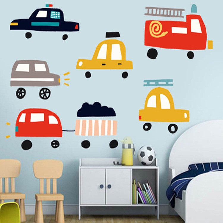 Toy Car Wall Decal