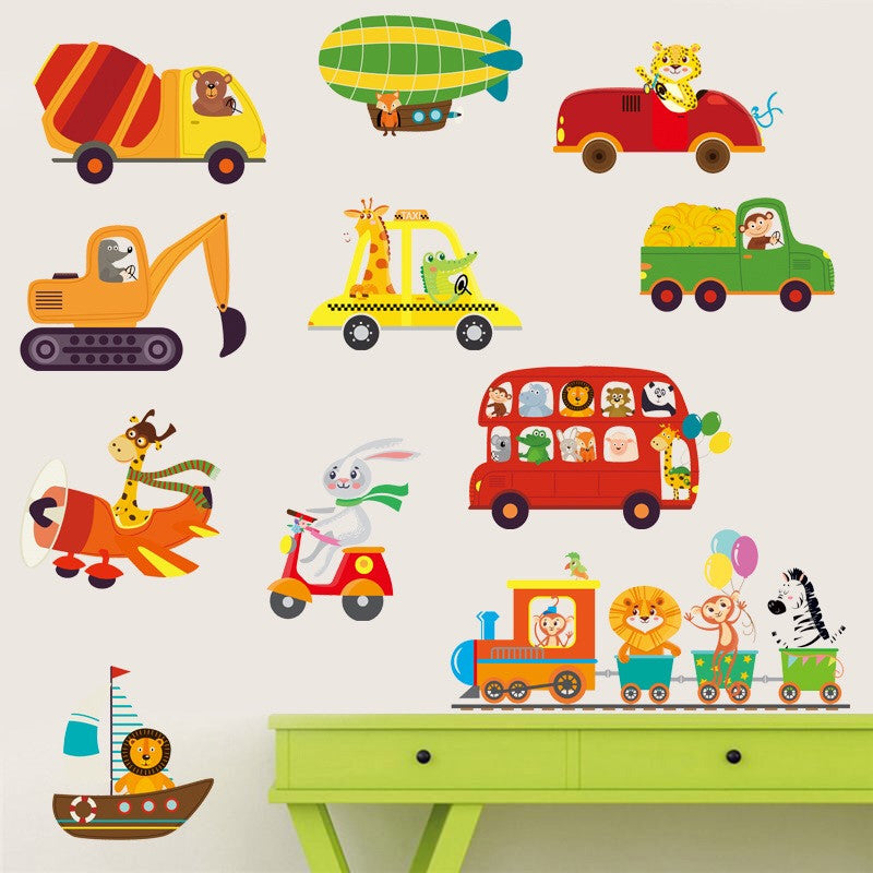 Toy Car Nursery Wall Sticker