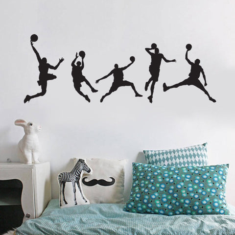 Basketball Players Wall Sticker