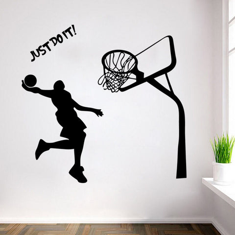 Basketball Player Wall Sticker