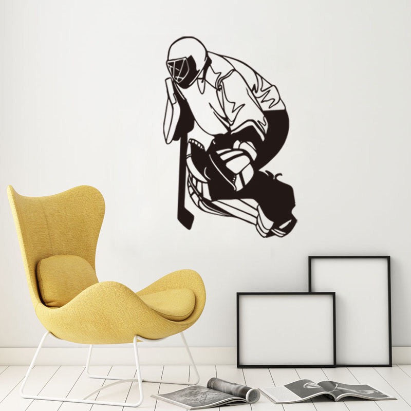 Hockey Wall Sticker