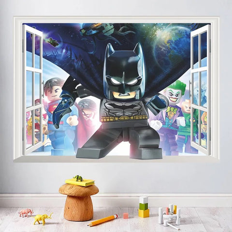 Lego Batman Peel and stick Wall Stickers