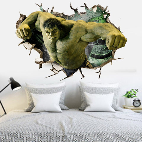 Marvel 3D The Incredible Hulk Wall Stickers