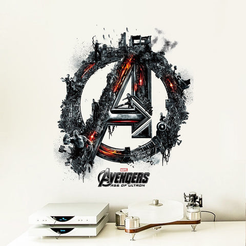 Avengers Logo Wall Decals
