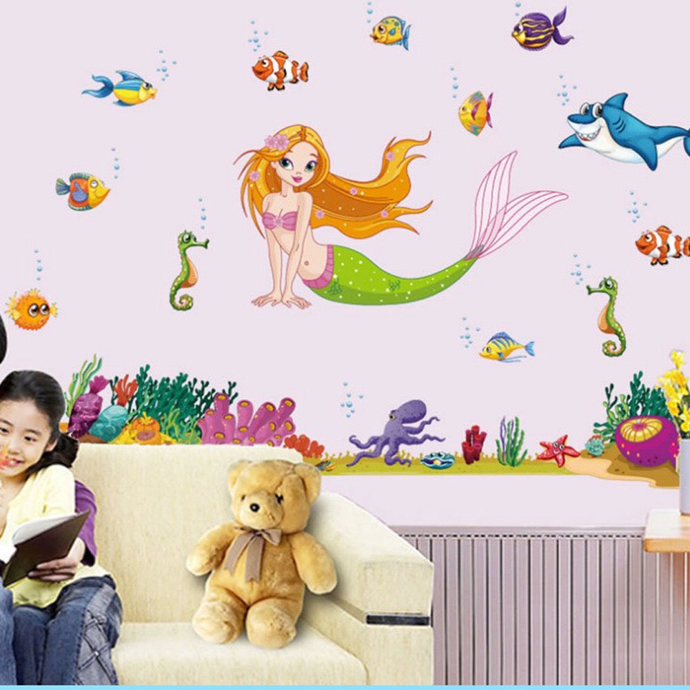 Disney The Little Mermaid Ariel Wall Decals