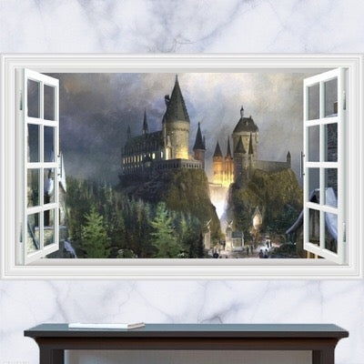 Harry Potter Castle Wall Decal