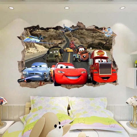 Disney Pixar Cars Characters Wall Decals