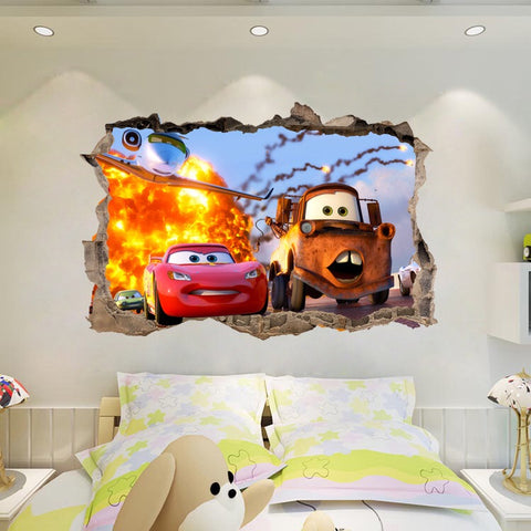 Disney.Pixar Cars Friends Large Wall Stickers