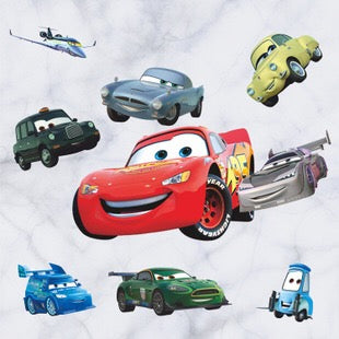 Disney Pixar Cars Characters Wall Decals The Treasure Thrift