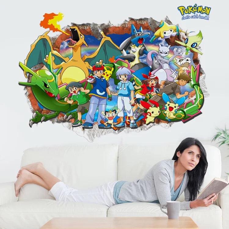 Pokémon Wall Stcikers