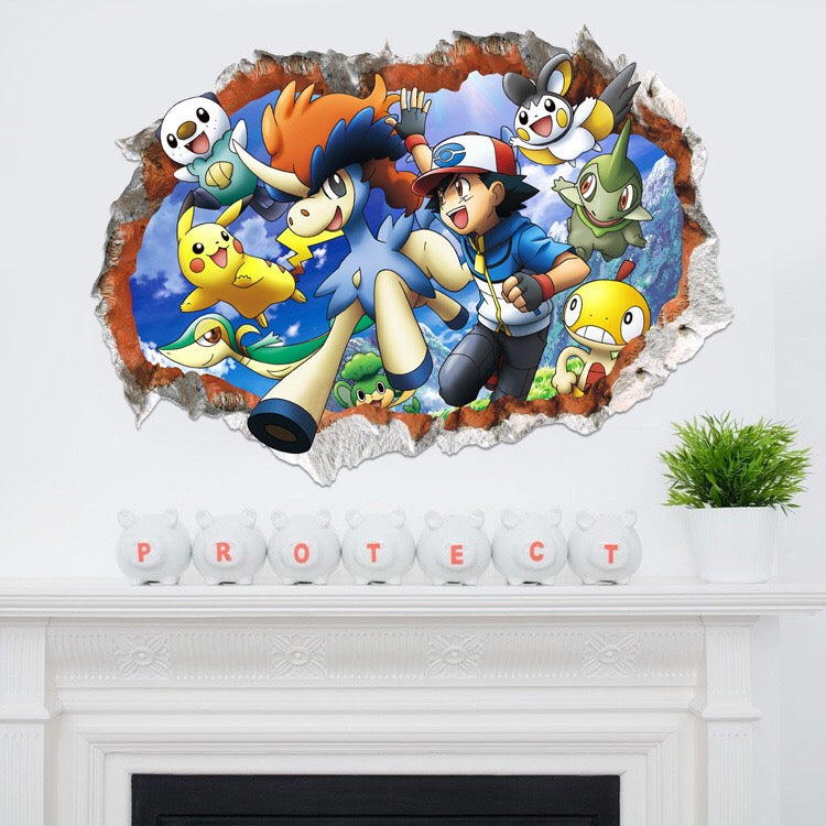 Pokémon Wall Decals