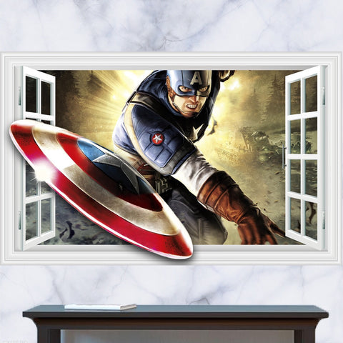 Captain America Wall Decals