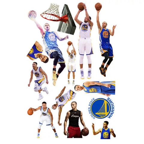 Golden State Warriors Wall Decals