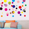 Colorful Dots Wall Stickers
