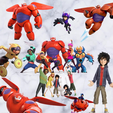 Big Hero 6 Wall Stickers