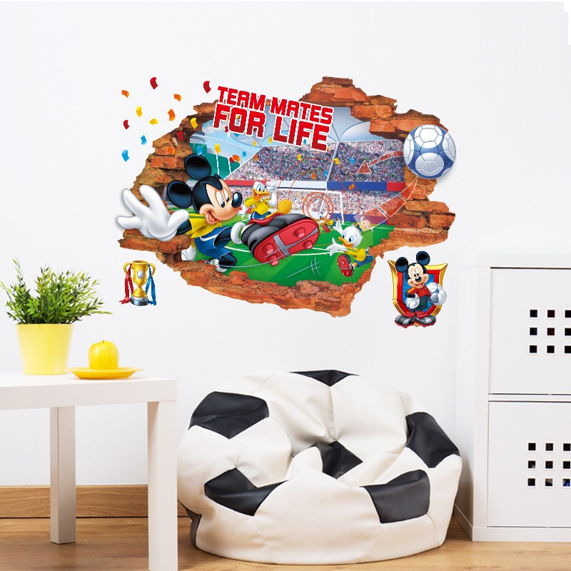 Disney Mickey Mouse Peel and Stick Wall Stickers