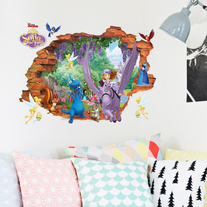 Disney Sofia The First Wall Stickers