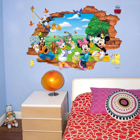 Disney Mickey & Friends Wall Stickers