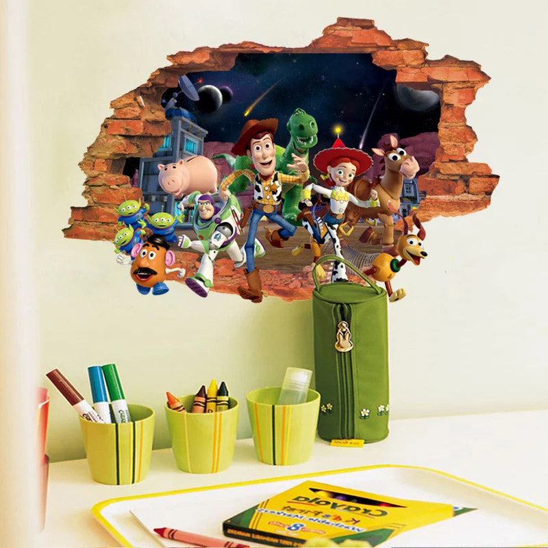 Disney Pixar Toy Story Wall Stickers The Treasure Thrift