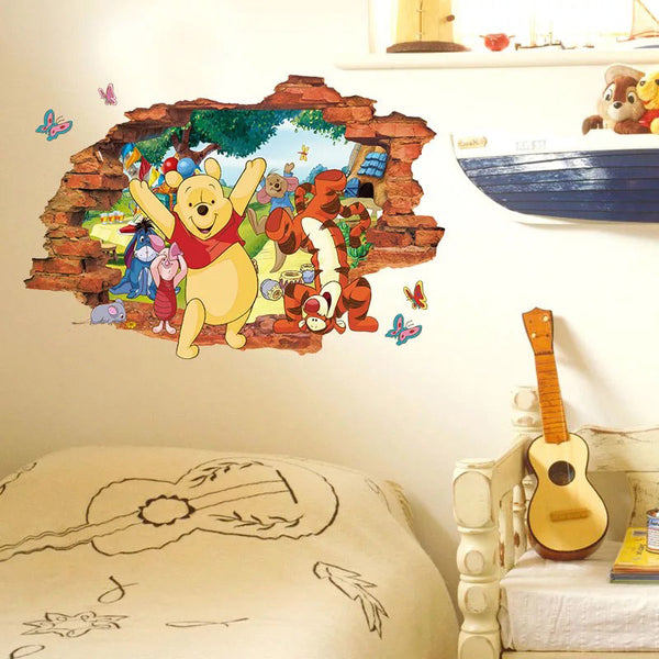 Disney Winnie The Pooh Wall Stickers The Treasure Thrift