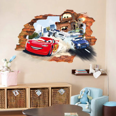 Disney.Pixar Cars 3 Wall Stickers
