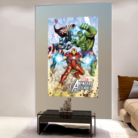 Large Avengers Superheroes Wall Stickers