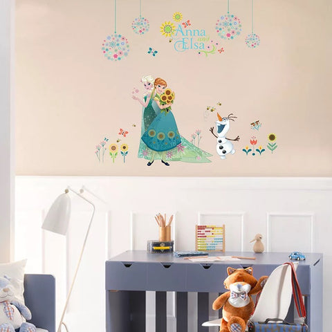 Disney Frozen Elsa & Anna Wall Stickers