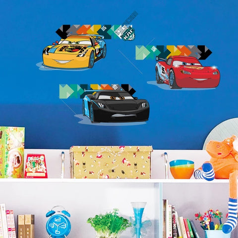 Pixar Cars Kid's Room Wall  Stickers