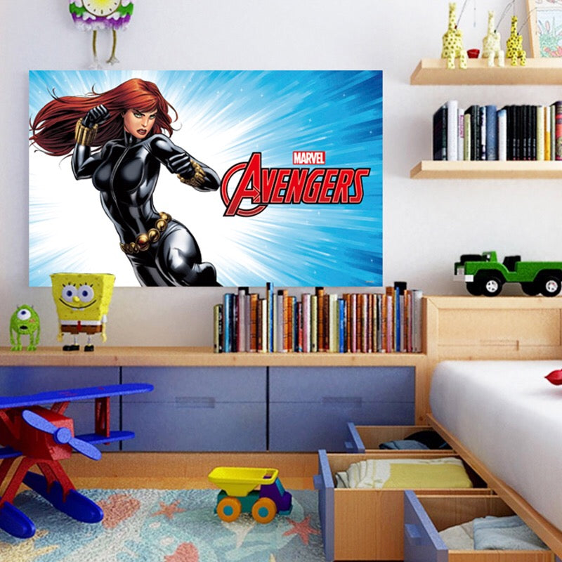 Avengers Black Widow Wall Stickers