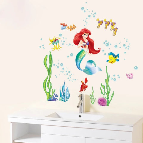 Disney Little Mermaid Wall Stickers