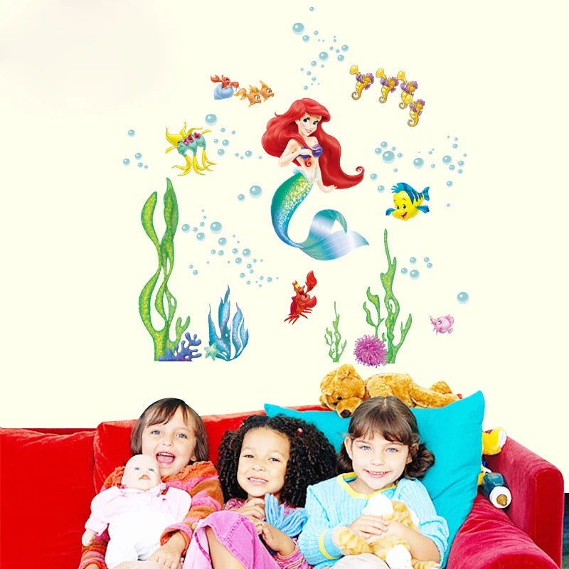 The Little Mermaid Ariel Wall Stickers