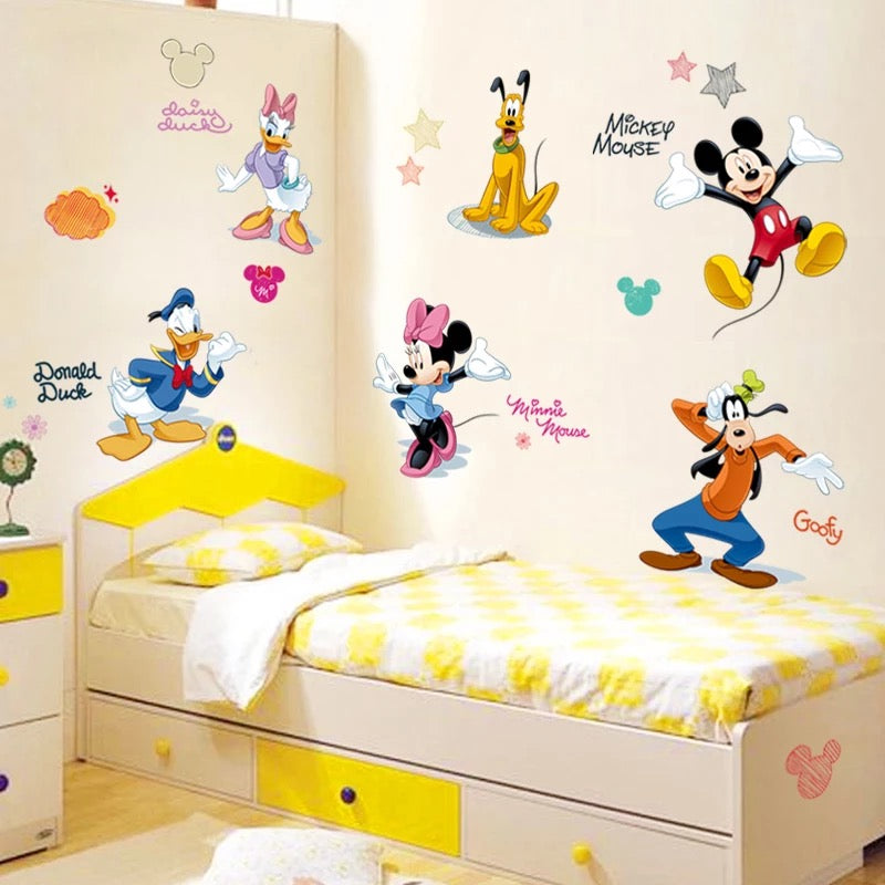 . Mickey Mouse Wall Stickers