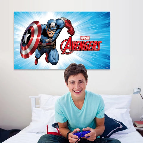 Avengers Captain America Wall Stickers