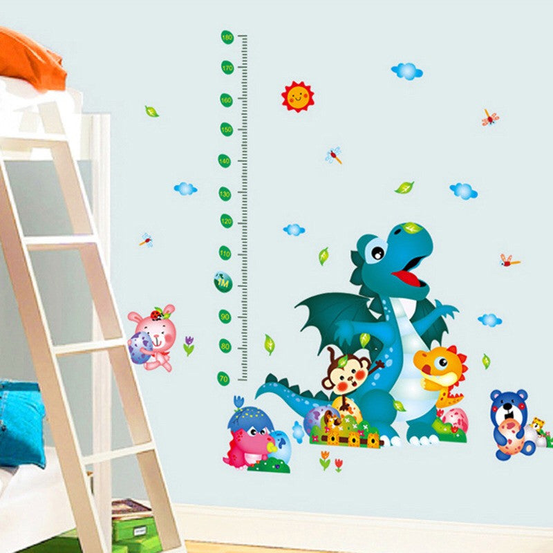 Animals & Nursery Height Chart Wall Stickers