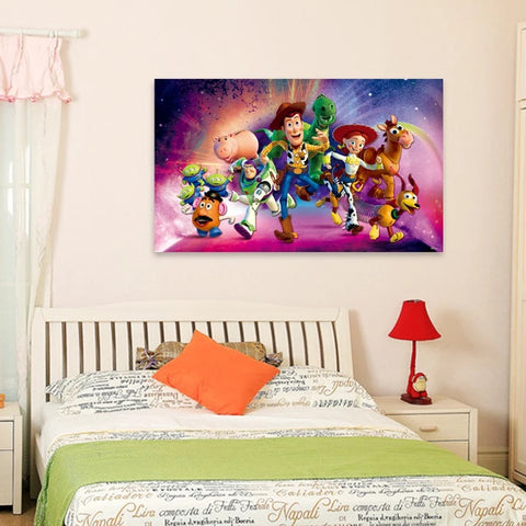 Pixar Toy Story Characters Wall Decals