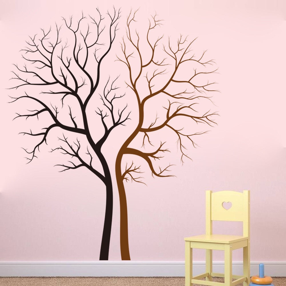 Cool Big Tree Wall Decor For Living room