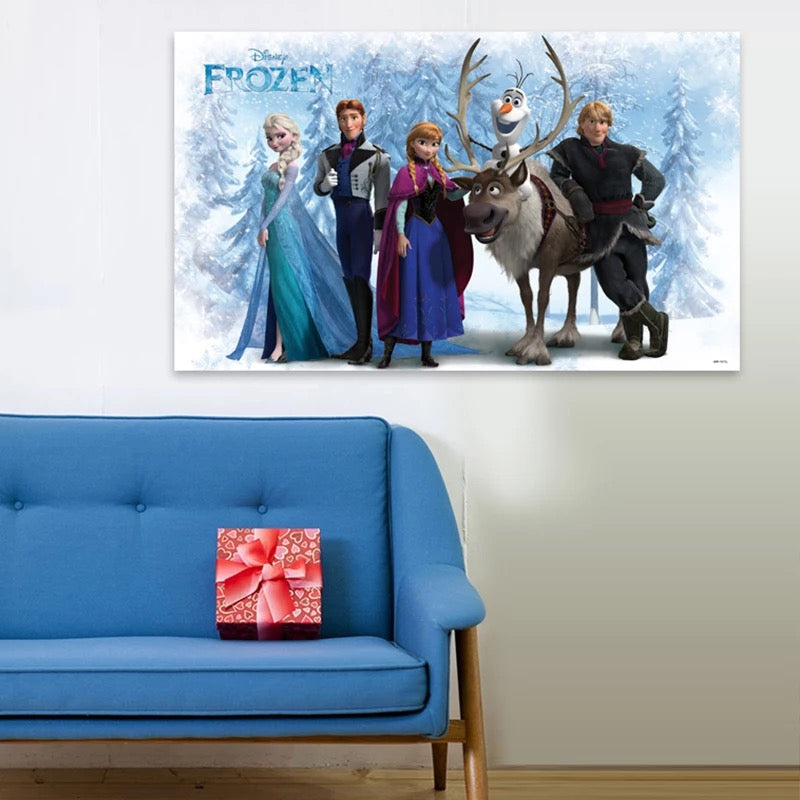 Large Disney Frozen Characters Wall Stickers