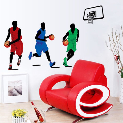 Basketball Players Wall Decals