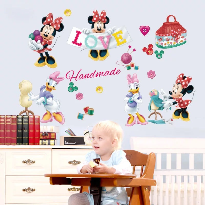 Minnie Mouse Wall Decals
