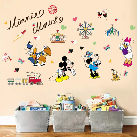 Mickey & Friends Wall Decals