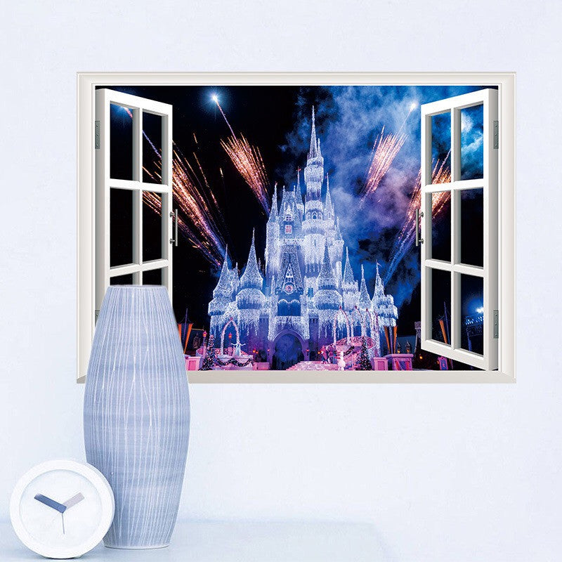 Disney Castle Peel And Stick Wall Decals