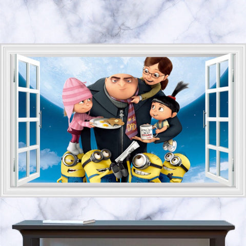 Despicable me Minions Wall Sticker