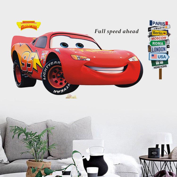 Disney Pixar McQueen Wall Decal