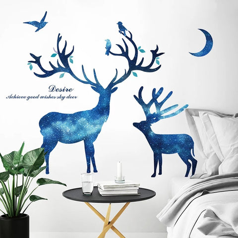 Elk Wall Stickers