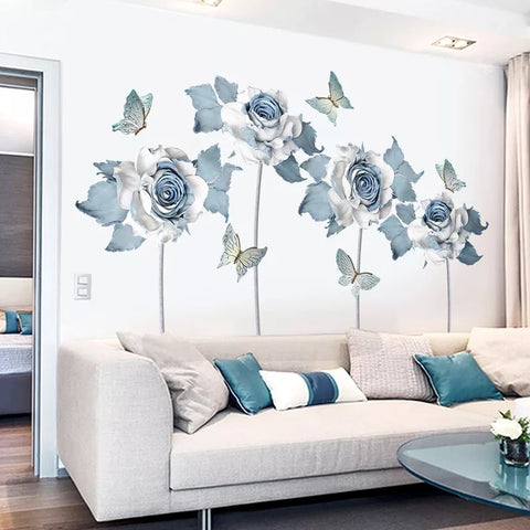 Rose  Wall Decals