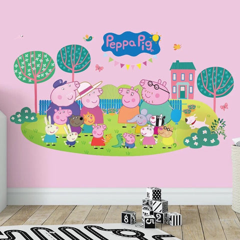 Peppa Pig Wall Decal