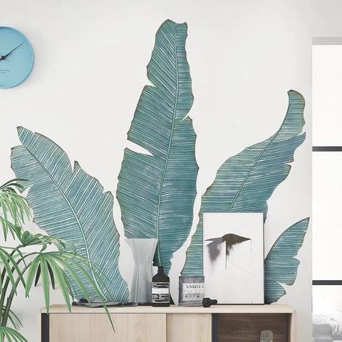 Banana Leaves Wall Decals
