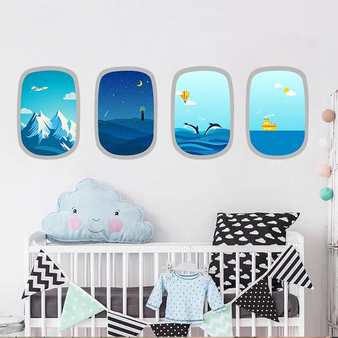Nursery Wall Decals-Vinyl Decals